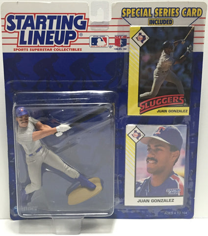 TAS022018 - 1993 Kenner Starting Lineup Figure MLB - Juan Gonzalez