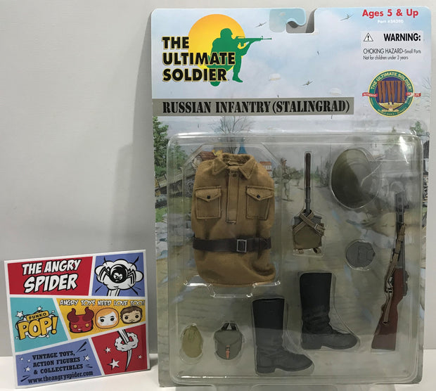 TAS041339 - 2000 21st Century Toys The Ultimate Soldier Russian Infantry (Stalingrad)