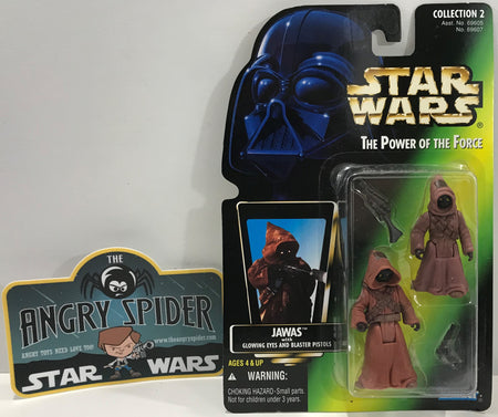 TAS041099 - 1996 Kenner Star Wars The Power Of The Force - Jawas Glowing Eyes