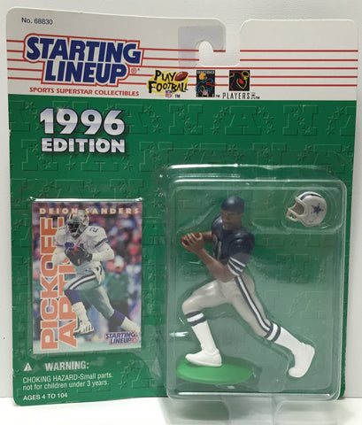 (TAS010817) - 1996 Hasbro Starting Lineup - Deion Sanders