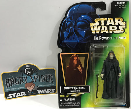 TAS041104 - 1996 Kenner Star Wars The Power Of The Force - Emperor Palpatine