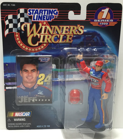 (TAS010821) - 1998 Hasbro Starting Lineup - Jeff Gordon