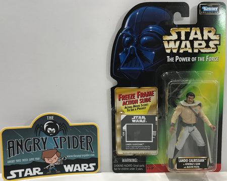 TAS041107 - 1997 Kenner Star Wars The Power Of The Force - Lando Calrissian