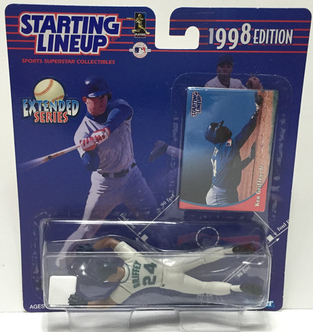 (TAS010823) - 1998 Hasbro Starting Lineup - Ken Griffey Jr.