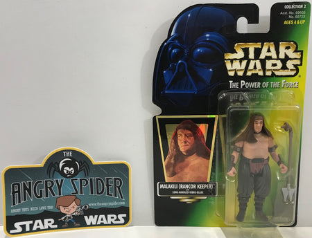 TAS041110 - 1997 Kenner Star Wars The Power Of The Force - Malakili (Rancor Keeper)