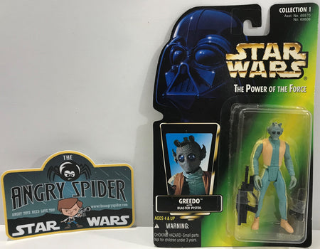 TAS041113 - 1996 Kenner Star Wars The Power Of The Force - Greedo