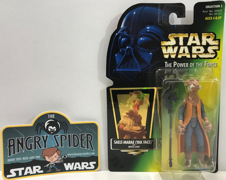 TAS041114 - 1997 Kenner Star Wars The Power Of The Force - Saelt-Marae (Yak Face)