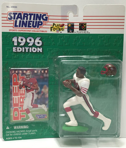(TAS010829) - 1996 Hasbro Starting Lineup - Jerry Rice