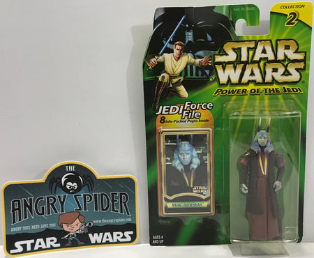 TAS041115 - 2000 Kenner Star Wars Power Of The Jedi - Mas Amedda
