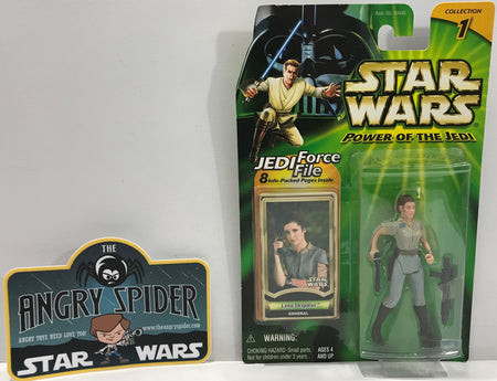 TAS041116 - 2000 Kenner Star Wars Power Of The Jedi - Leia Organa General