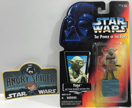 TAS041118 - 1995 Kenner Star Wars The Power Of The Force - Yoda