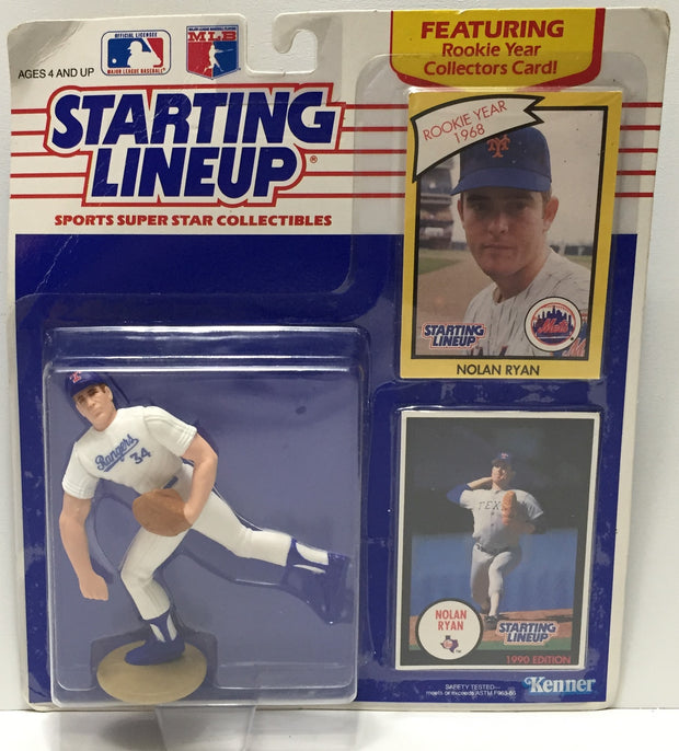 (TAS010833) - 1989 Hasbro Starting Lineup - Nolan Ryan