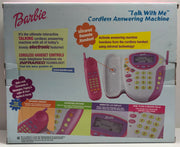TAS038101 - 2000 Barbie Talk With Me Cordless Answering Machine