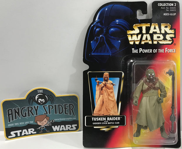 TAS041121 - 1996 Kenner Star Wars The Power Of The Force - Tusken Raider