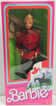 TAS038102 - 1987 Mattel Canadian Barbie Doll