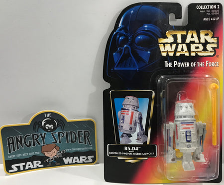 TAS041123 - 1996 Kenner Star Wars The Power Of The Force - R5-D4