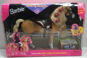 TAS038104 - 1998 Mattel Barbie Walking Beauty Horse