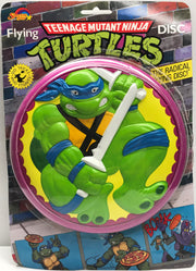 TAS038134 - 1989 Spectra Star Teenage Mutant Ninja Turtles Flying Disc Frisbee