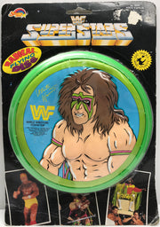 TAS038136 - 1990 Spectra Star WWF WWE Radical Flying Disc - The Ultimate Warrior