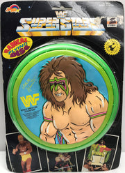 TAS038137 - 1990 Spectra Star WWF WWE Radical Flying Disc - Ultimate Warrior