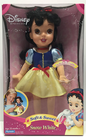 (TAS010816) - Playmates Disney Soft & Sweet Snow White Doll