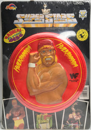 TAS038140 - 1990 Spectra Star WWF WWE Radical Flying Disc - Hulk Hogan