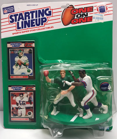 TAS039045 - 1989 Kenner Starting Lineup NFL O'Brien & Taylor One on One