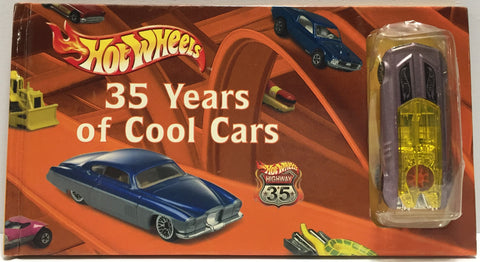TAS037618 - Mattel Hot Wheels 35 Years of Cool Cars Book