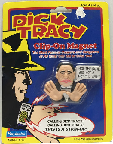TAS037632 - 1990 Playmates Dick Tracy Clip-On Magnet Lips Manlis