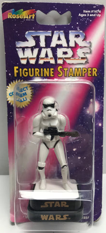 TAS039064 - 1997 Rose Art Star Wars Figurine Stamper - Stormtrooper