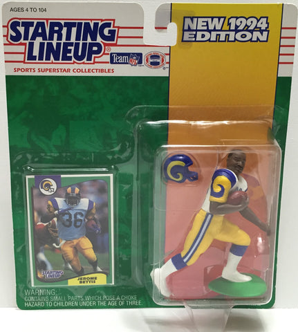 TAS037633 - 1994 Kenner Starting Lineup NFL Jerome Bettis #36