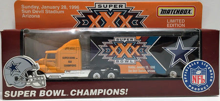 TAS037642 - 1995 Matchbox Super Bowl Champions Truck - Dallas Cowboys