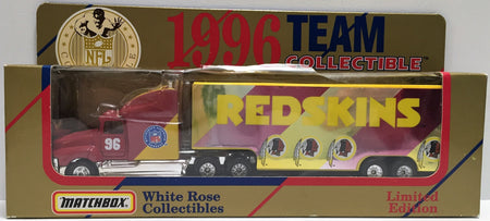 TAS037643 - 1996 Matchbox Team Collectibles Washington Redskins Truck
