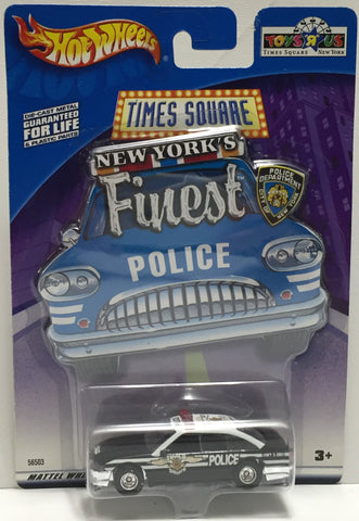 TAS037647 - 2002 Mattel Hot Wheels Die-Cast Time Square New York's Finest Police