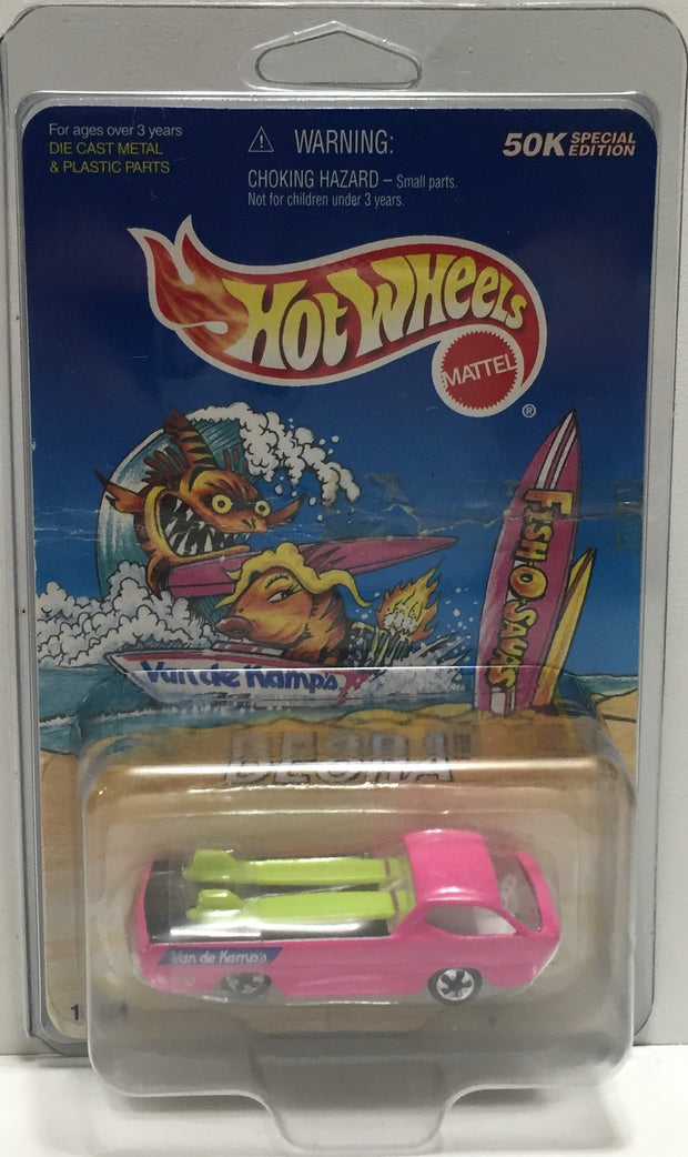 TAS037649 - 1997 Mattel Hot Wheels Die-Cast Van de Kamp's Fish-O-Saurs