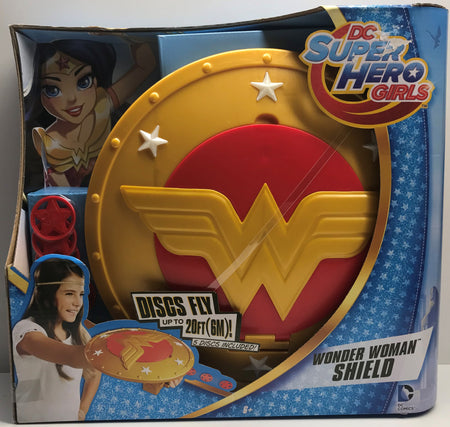 TAS039336 - 2015 Mattel DC Super Hero Girls Wonder Woman Shield