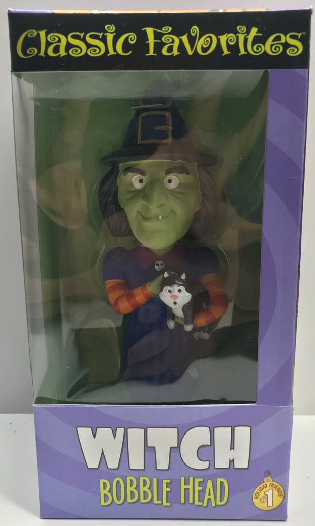 TAS039337- Vintage Classic Favorites Bobble Head - Halloween Witch