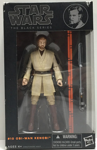 TAS037657 - 2014 Hasbro Star Wars The Black Series #10 Obi-Wan Kenobi