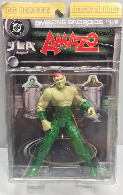 TAS039346 - DC Direct Amazing Androids JLA Action Figure - Amazo