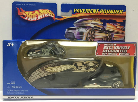TAS011025 - 2001 Mattel Hot Wheels Die-Cast Exclusive Pavement Pounder