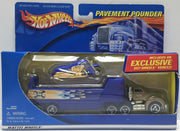 TAS011026 - 2000 Mattel Hot Wheels Die-Cast Pavement Pounder Vehicle Set