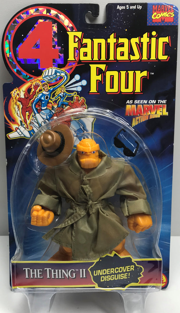 TAS038278 - 1995 Toy Biz Marvel Fantastic Four Action Figure - The Thing II