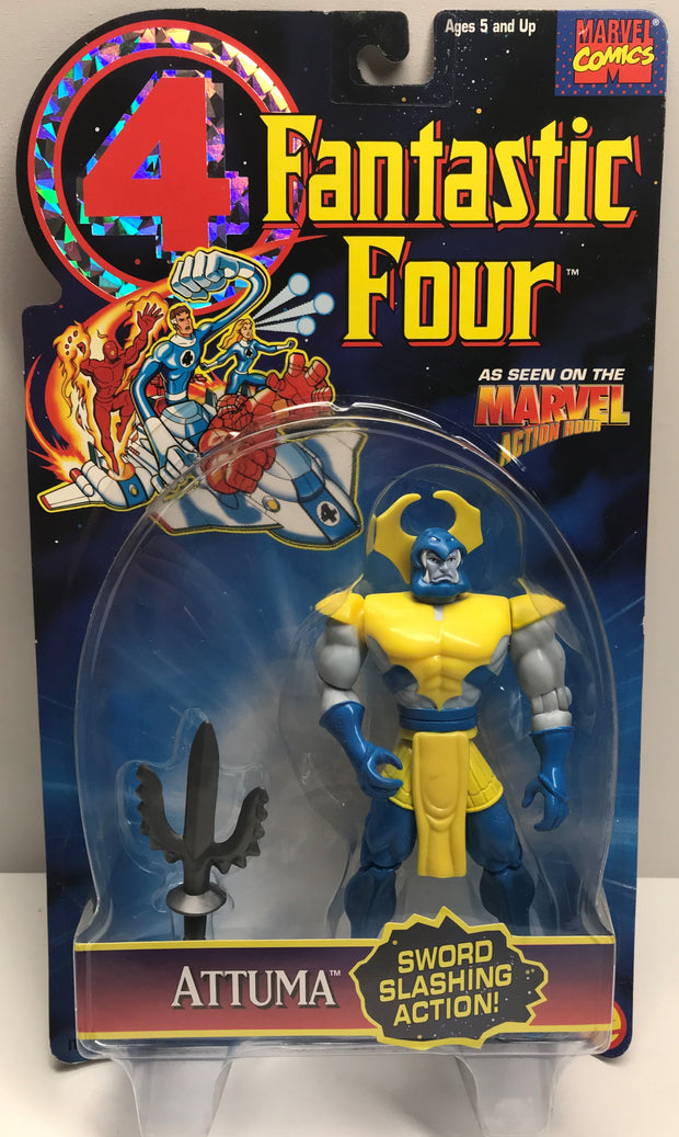 TAS038283 - 1995 Toy Biz Marvel Fantastic Four Action Figure - Attuma