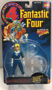 TAS038284 - 1994 Toy Biz Marvel Fantastic Four Action Figure - Invisible Woman