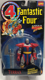 TAS038295 - 1994 Toy Biz Marvel Fantastic Four Action Figure - Terrax