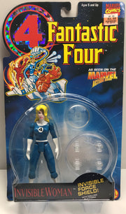 TAS038300 - 1994 Toy Biz Marvel Fantastic Four Action Figure - Invisible Woman