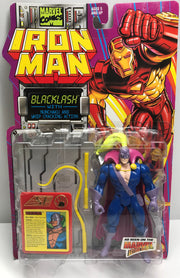 TAS039316 - 1994 Toy Biz Iron Man Action Figure - Blacklash Nunchaku Whip