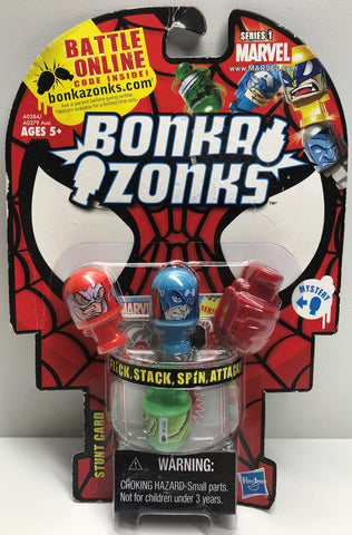TAS039331 - 2011 Hasbro Marvel Series 1 Bonka Zonks - Captain America