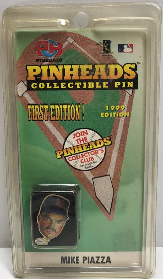 TAS039555 - 1998 Pinheads Collectible Pin MLB First Edition - Mike Piazza