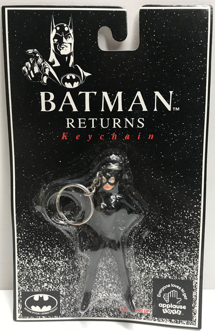 TAS039591 - 1992 Applause DC Comics Batman Returns - Catwoman Keychain